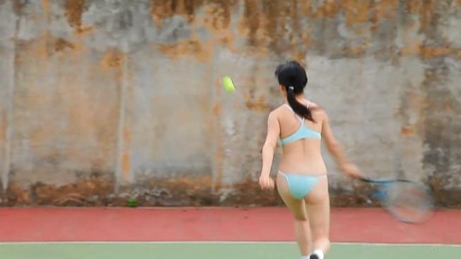 星名美津紀 テニス 画像